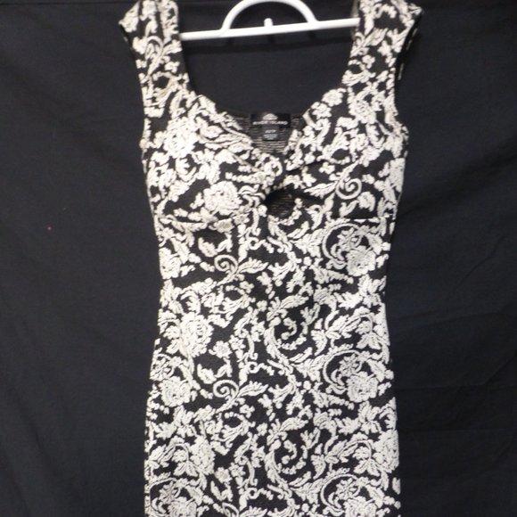 RIVER ISLAND, xs, extra small, black & white dress